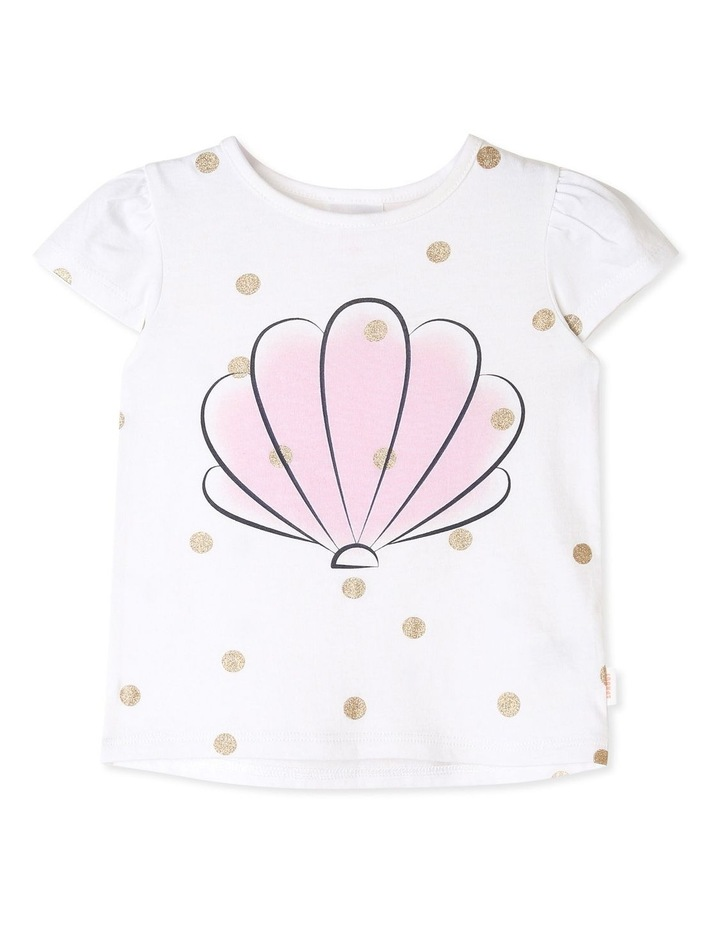 Essential Sea Shell with Spots T-Shirt image 1