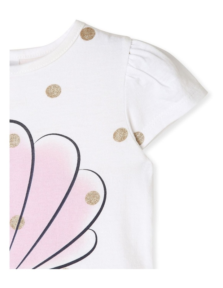 Essential Sea Shell with Spots T-Shirt image 3