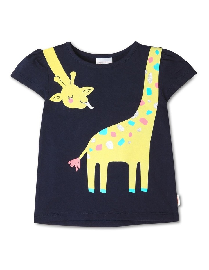 Essential Cheeky Giraffe Placement T-Shirt image 1
