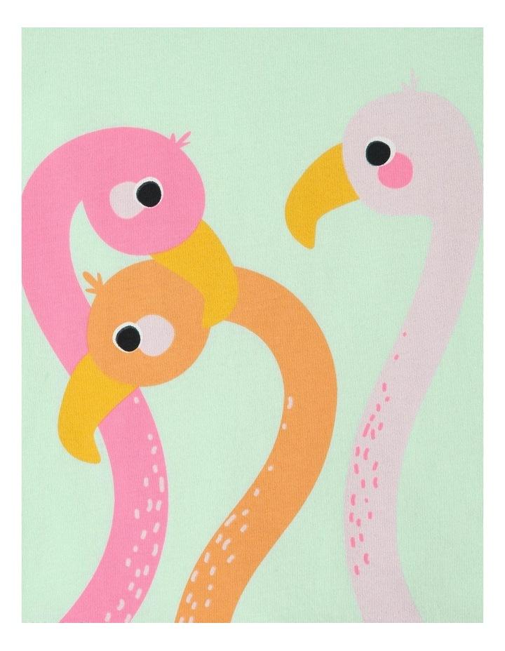 Essential Flamingo Love Print T-Shirt image 2