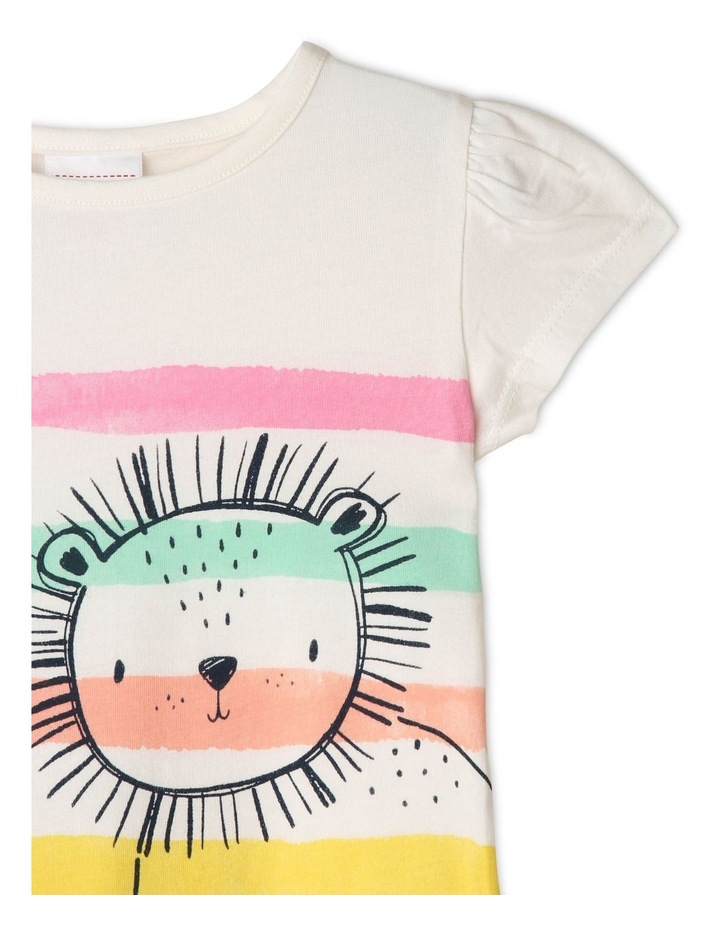 Essential 'Roar-Some' Print T-Shirt image 3