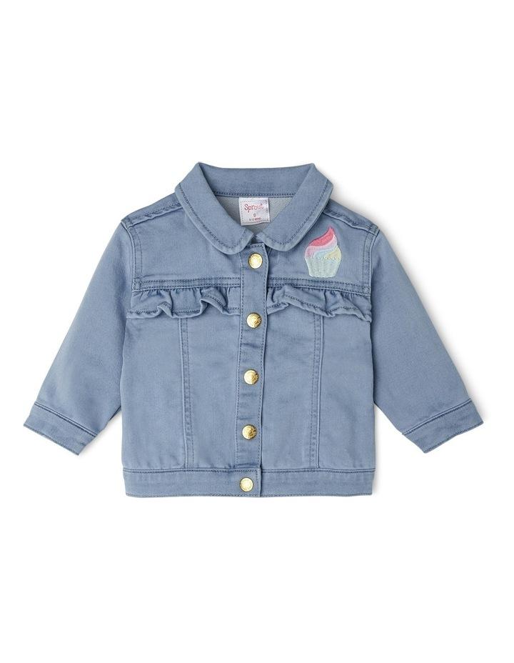 Denim Frill Jacket image 1