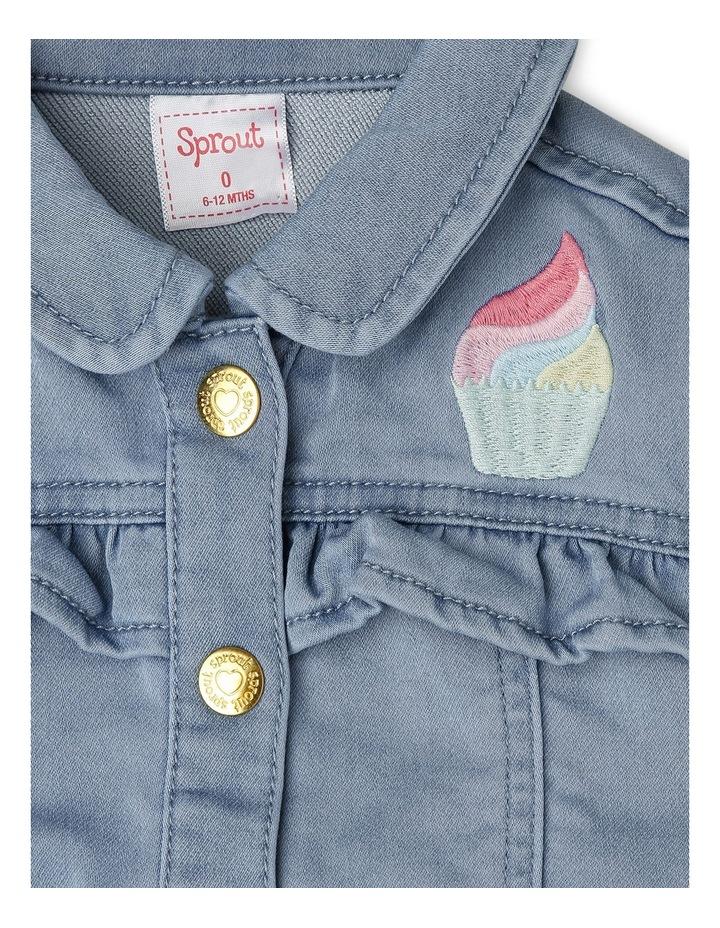 Denim Frill Jacket image 2