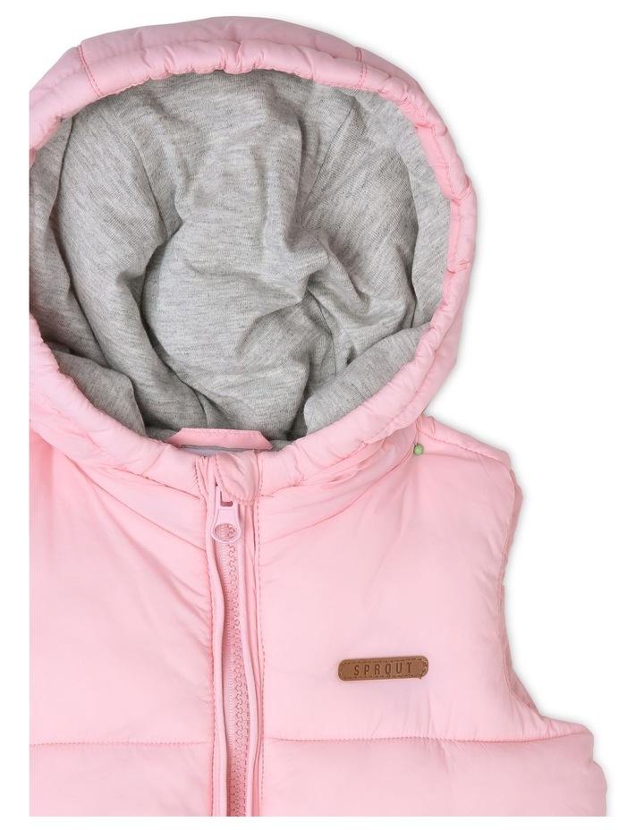Hooded Puffer Vest image 2
