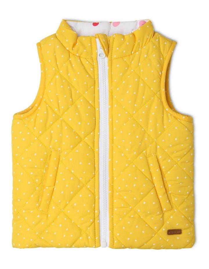 Girls Reversible Puffer Vest image 1