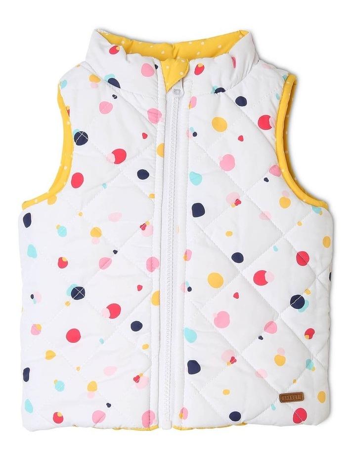 Girls Reversible Puffer Vest image 2