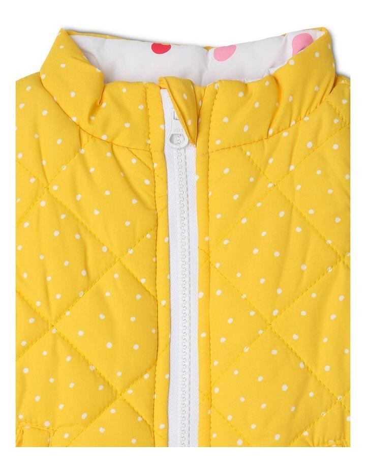 Girls Reversible Puffer Vest image 3
