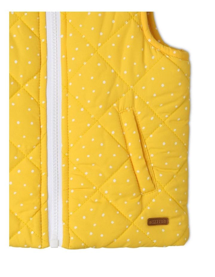 Girls Reversible Puffer Vest image 4