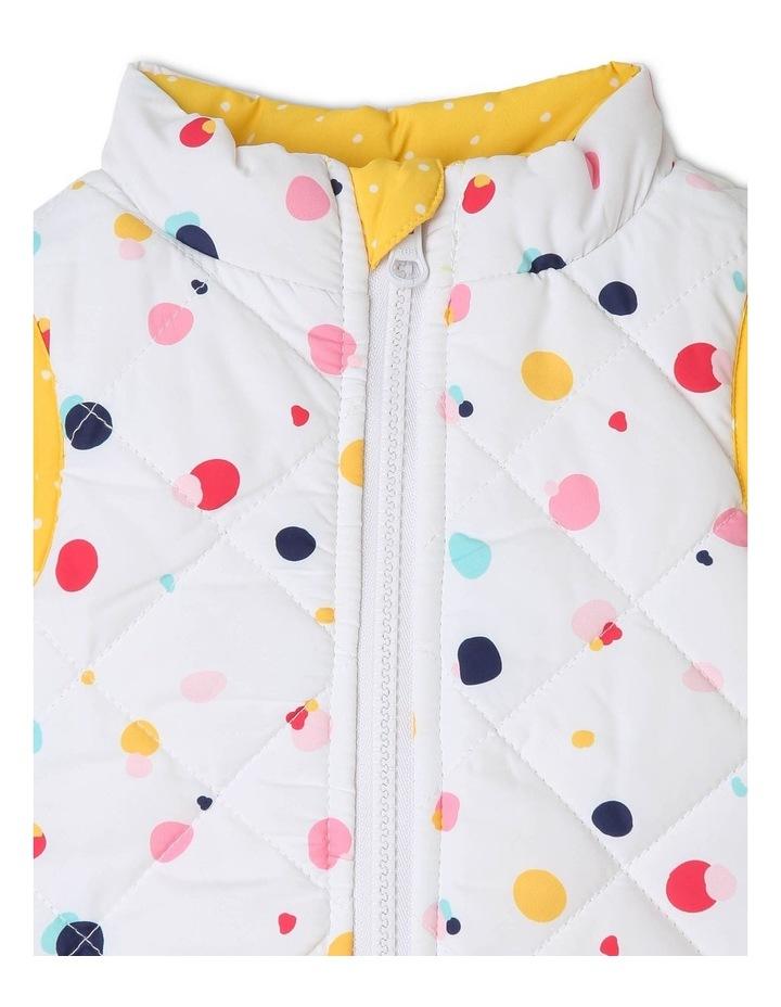 Girls Reversible Puffer Vest image 5
