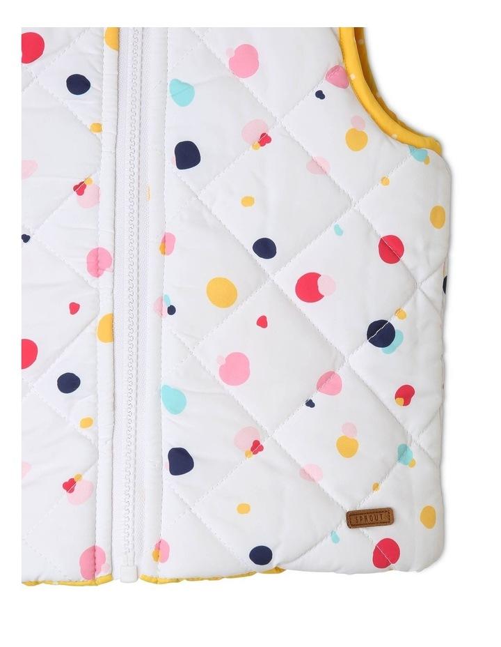 Girls Reversible Puffer Vest image 6
