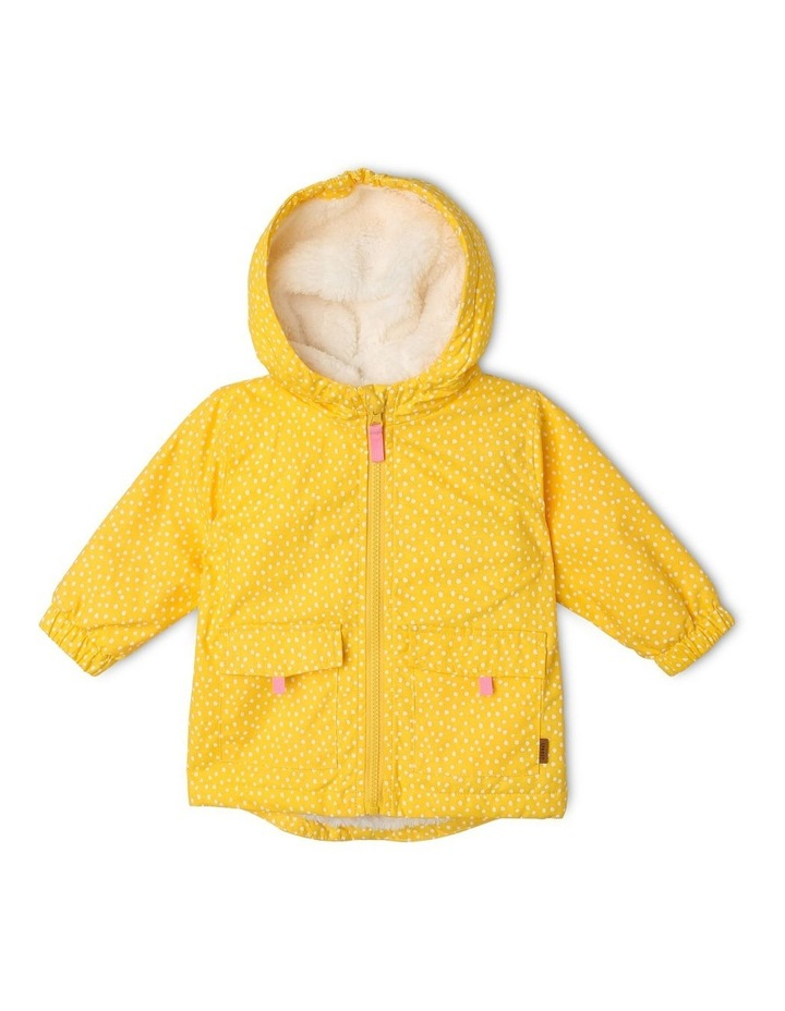 Anorak Jacket with Sherpa-Lined Hood image 1