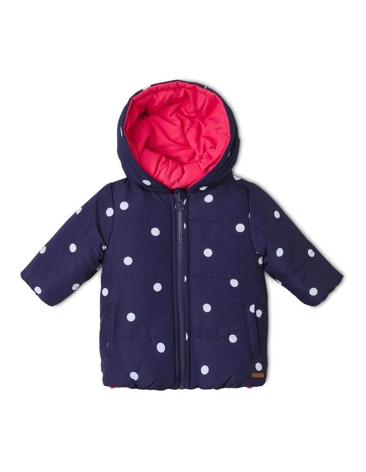 Girls Reversible Puffer Jacket image 1