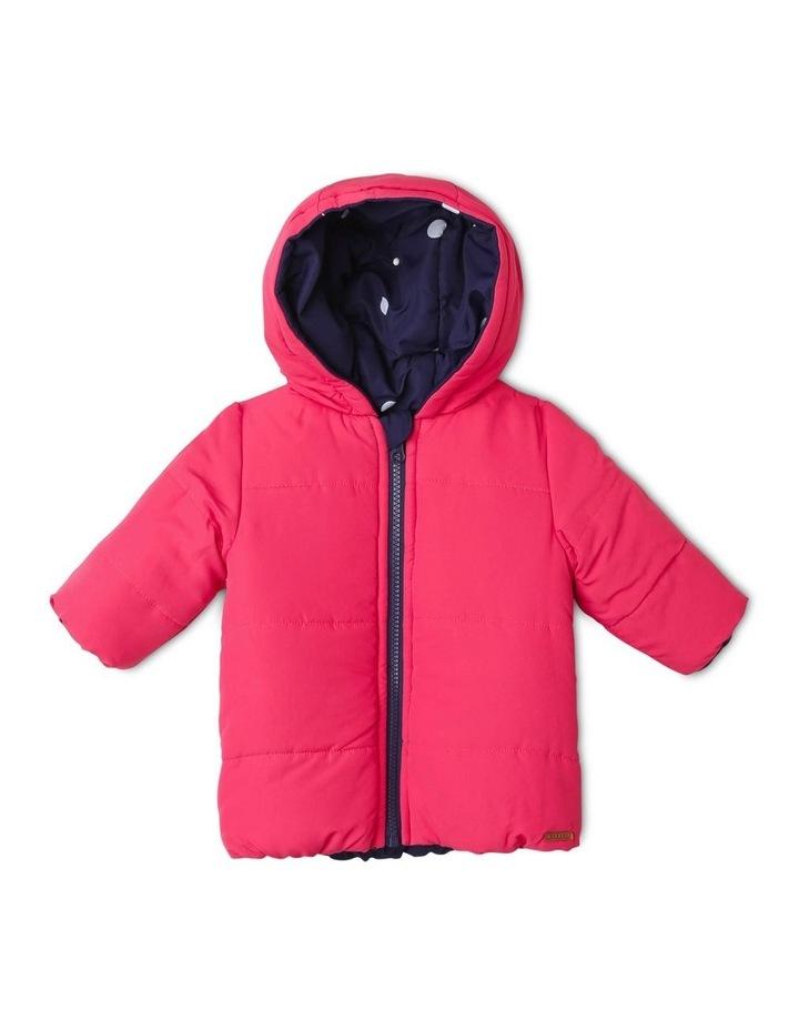 Girls Reversible Puffer Jacket image 2
