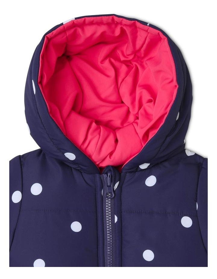 Girls Reversible Puffer Jacket image 3
