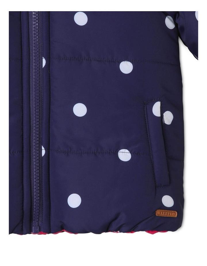 Girls Reversible Puffer Jacket image 4