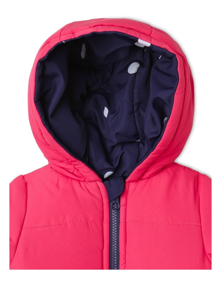 Girls Reversible Puffer Jacket image 5