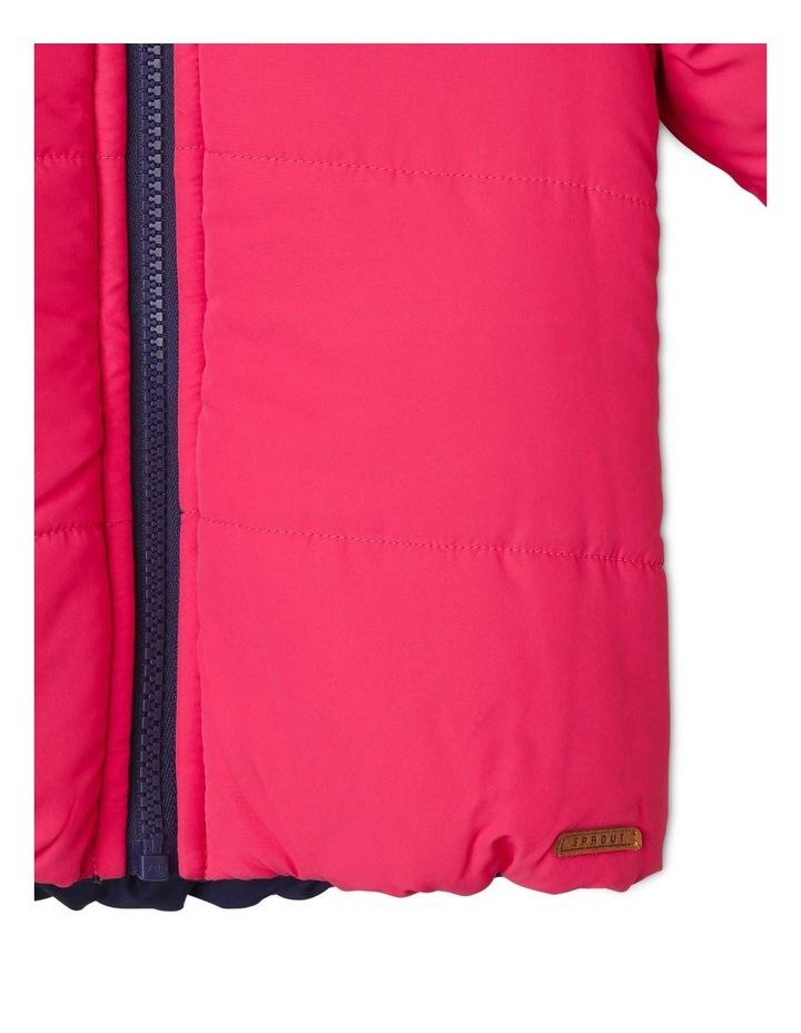 Girls Reversible Puffer Jacket image 6