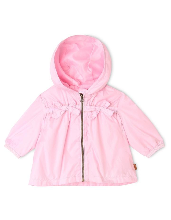 Lightweight Raincoat in Light Pink image 1