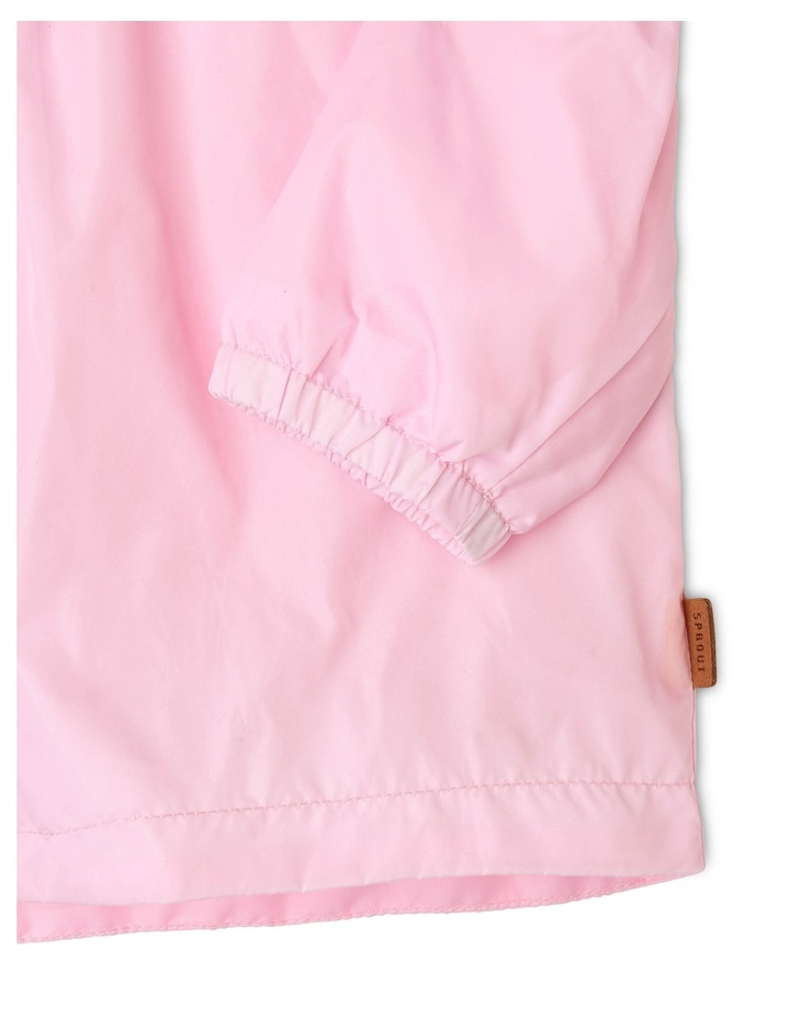 Lightweight Raincoat in Light Pink image 3