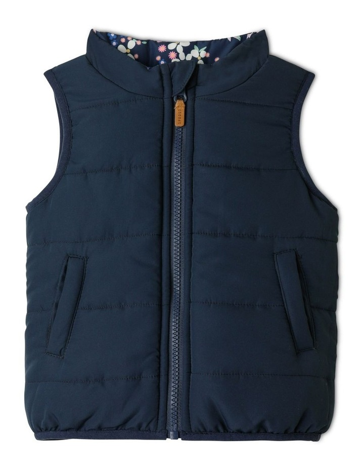 Frankie Reversible Vest Navy image 2