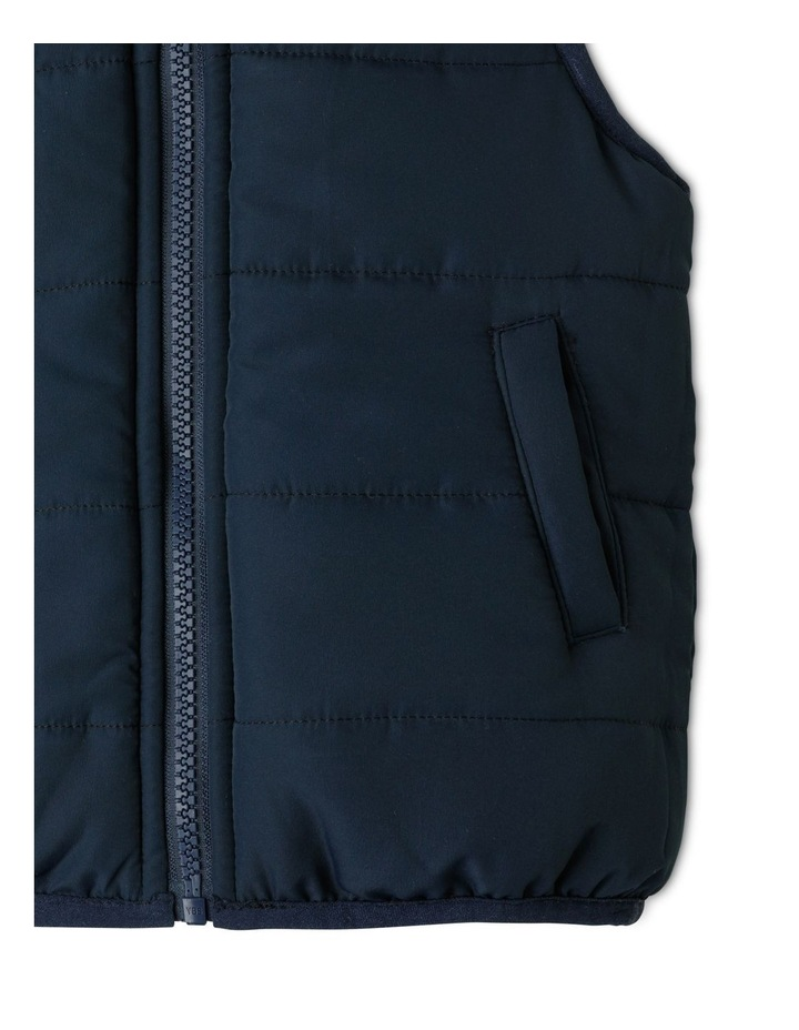Frankie Reversible Vest Navy image 6