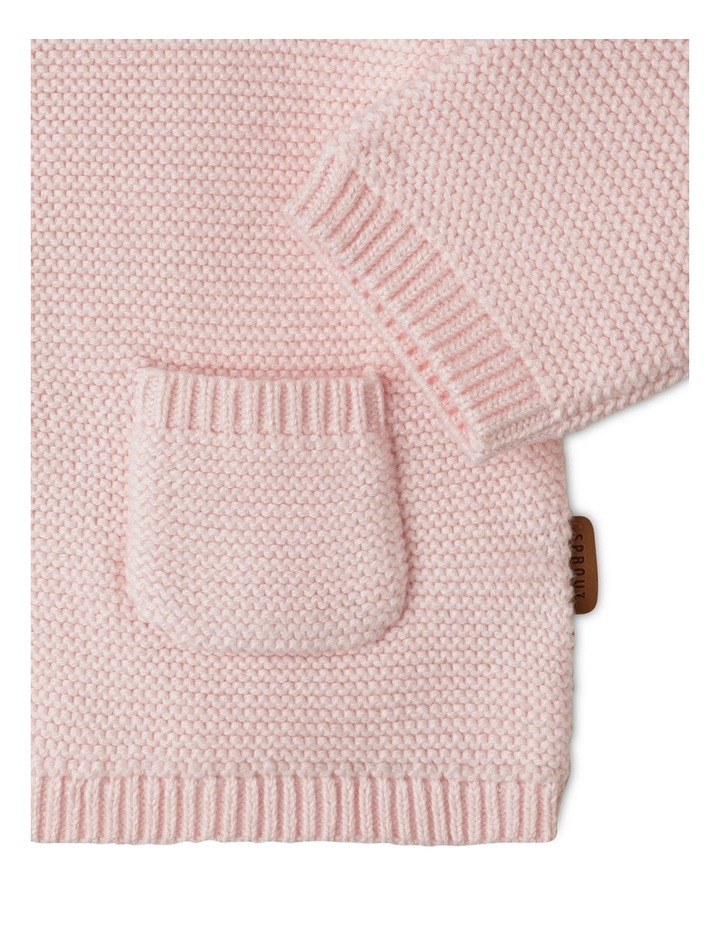 Organic Knit Hood Cardigan image 2