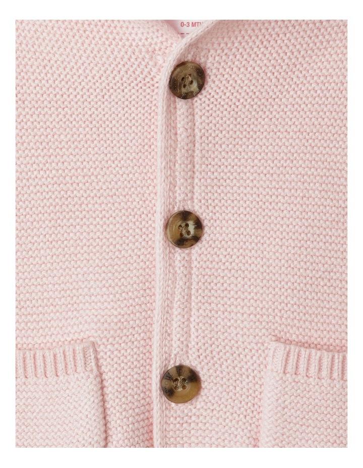 Organic Knit Hood Cardigan image 4