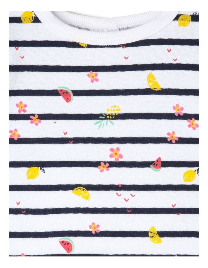 Essential Stripe Sweat Top image 2