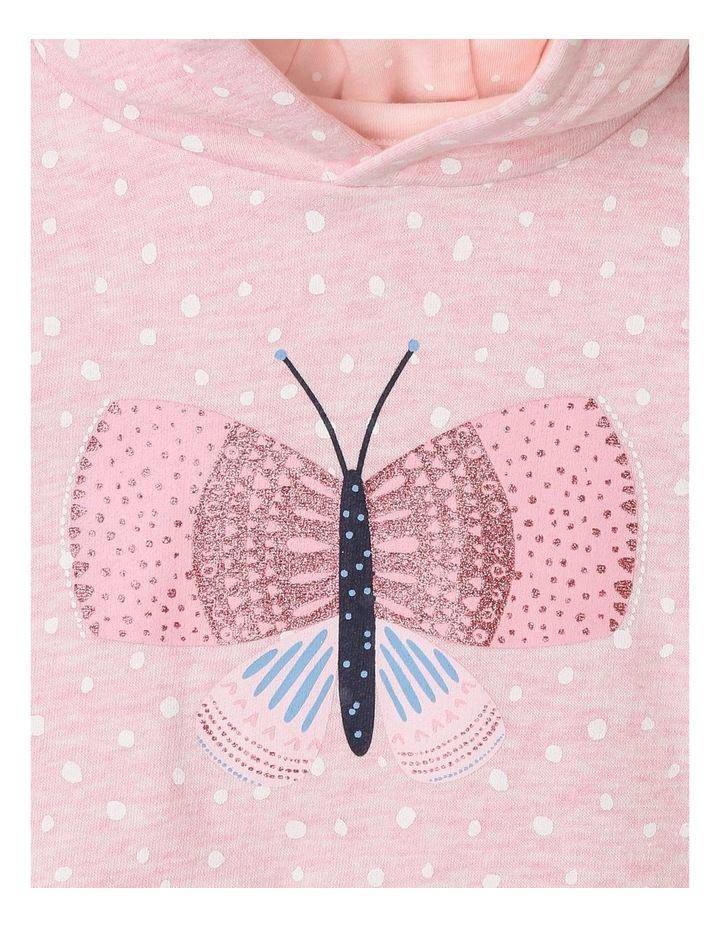 Essential Glitter Butterfly Hoodie image 2