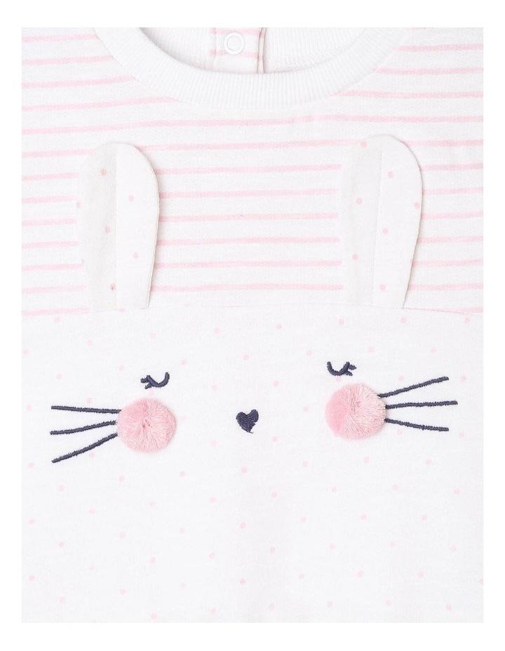 Girls Novelty Bunny Sweat-Top image 2