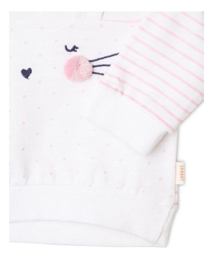 Girls Novelty Bunny Sweat-Top image 3
