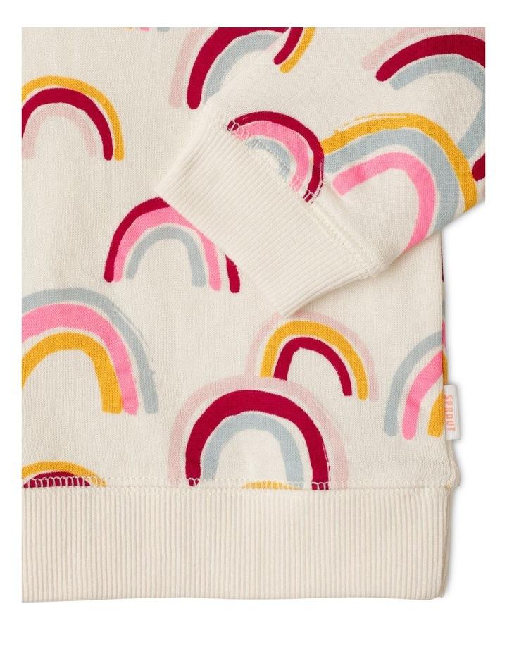 Rainbow Essential Organic Sweat Top image 3