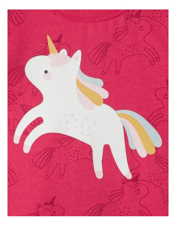 Sketchy Unicorn Essential Organic Sweat Top image 3