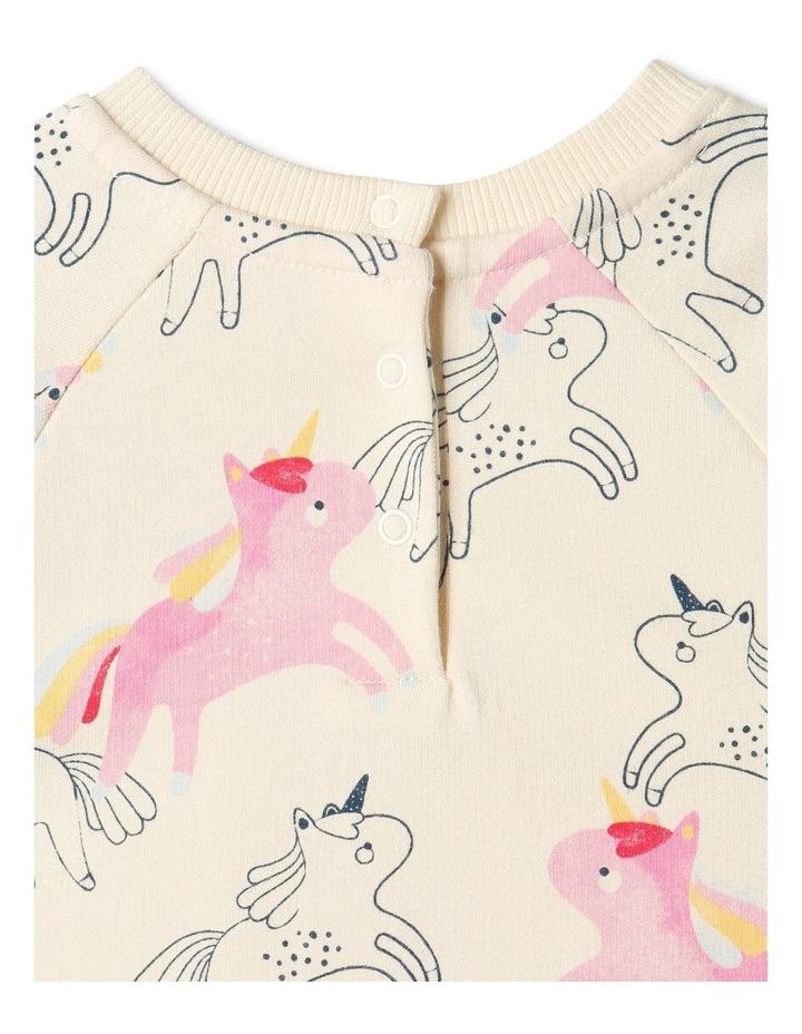 Delia Unicorn Peplum Sweat image 6