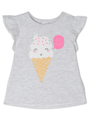 Sprout - Girls Essential Top TGS19000-CW6