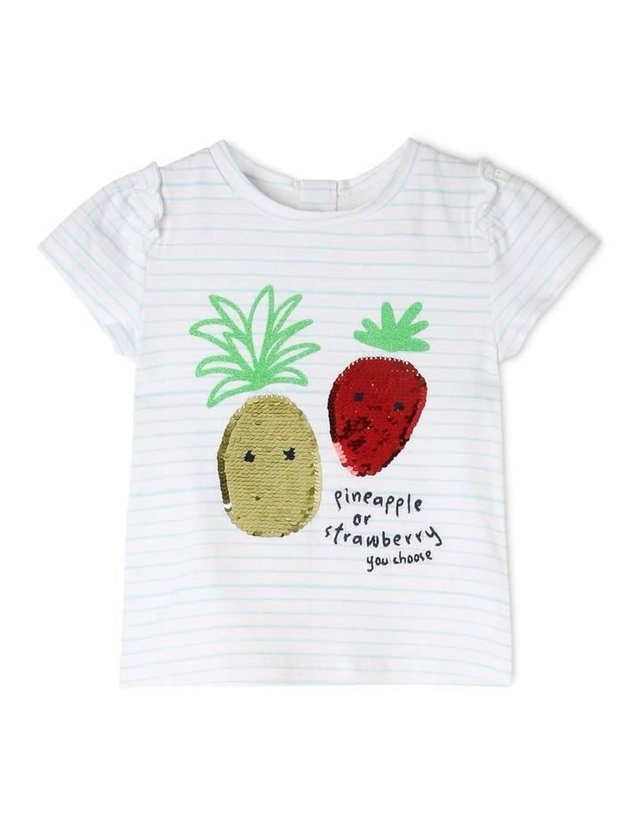 Sequin Embellished T-Shirt image 1