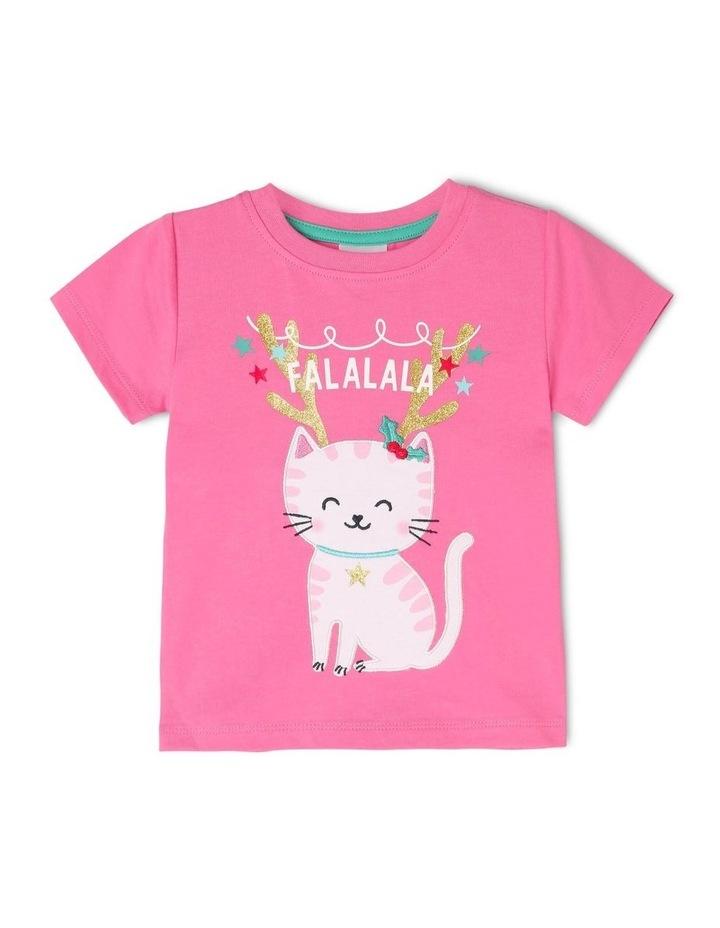 Christmas Cat T-Shirt image 1