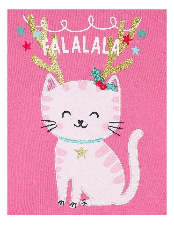 Christmas Cat T-Shirt image 2