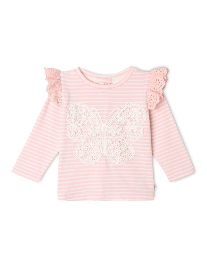 Hanna Butterfly Top Light Pink image 1