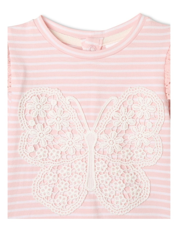 Hanna Butterfly Top Light Pink image 3