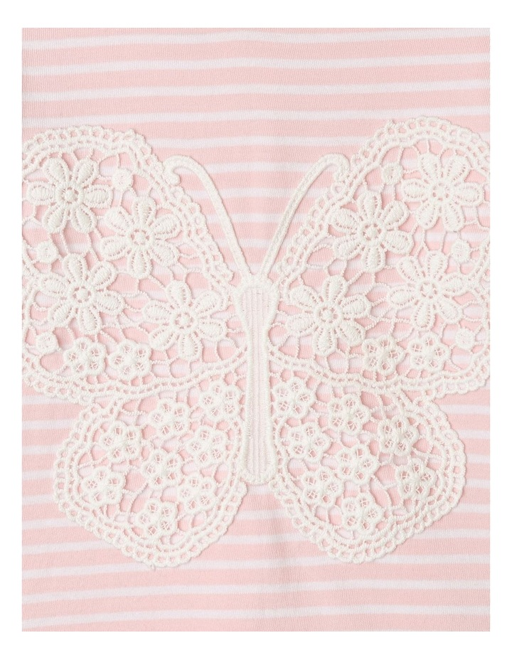 Hanna Butterfly Top Light Pink image 4