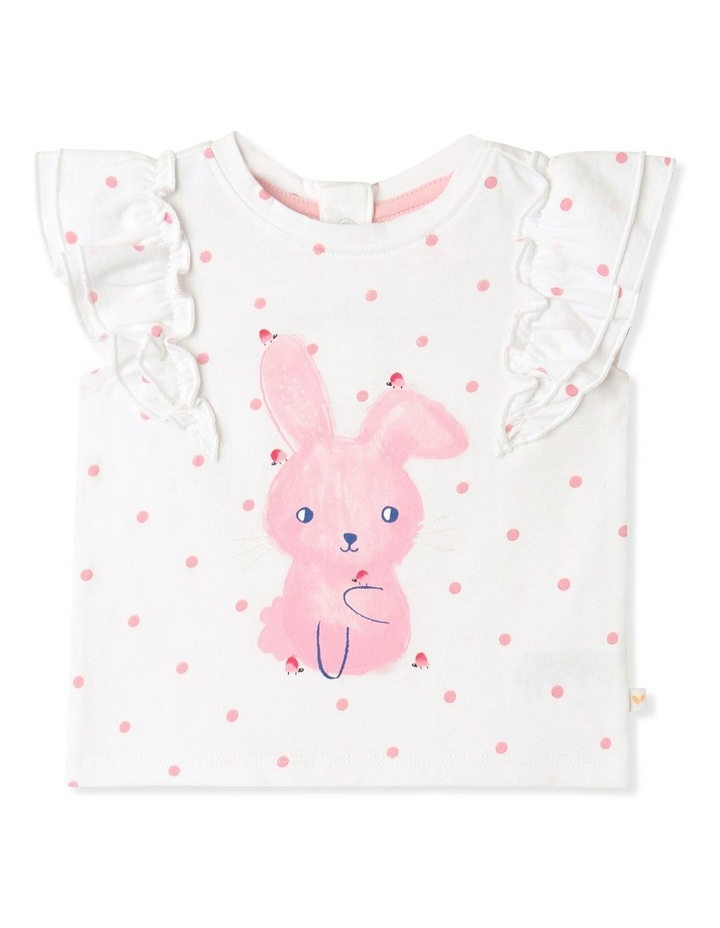 Bunny Frill Top White image 1