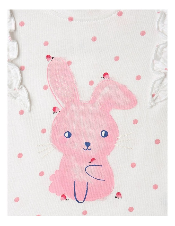 Bunny Frill Top White image 2