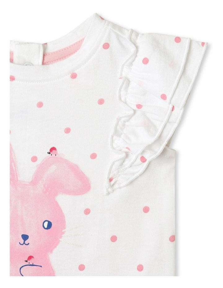 Bunny Frill Top White image 3