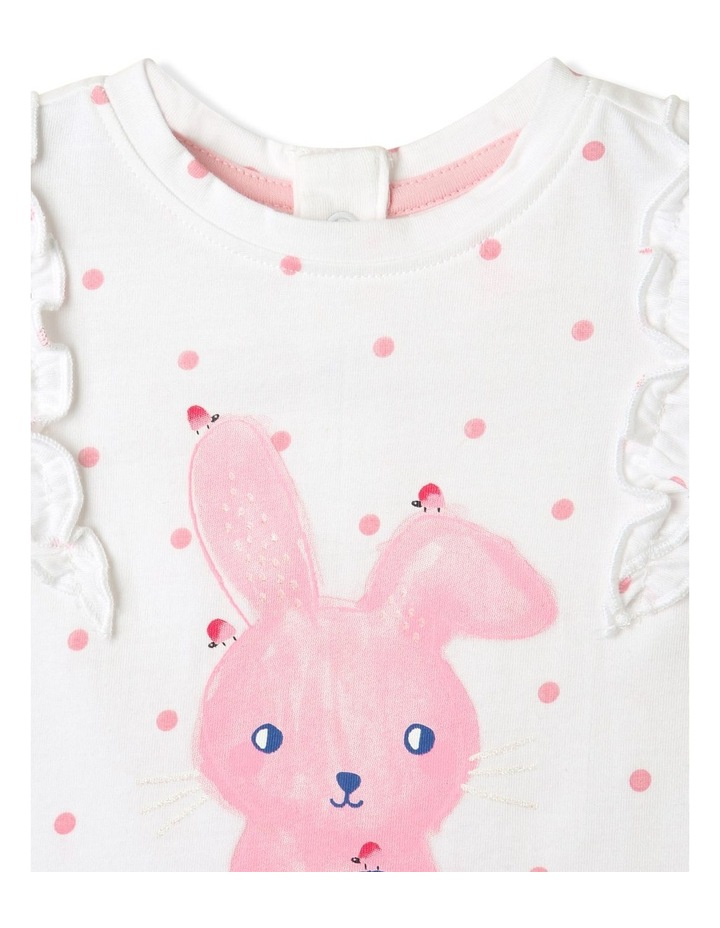 Bunny Frill Top White image 4