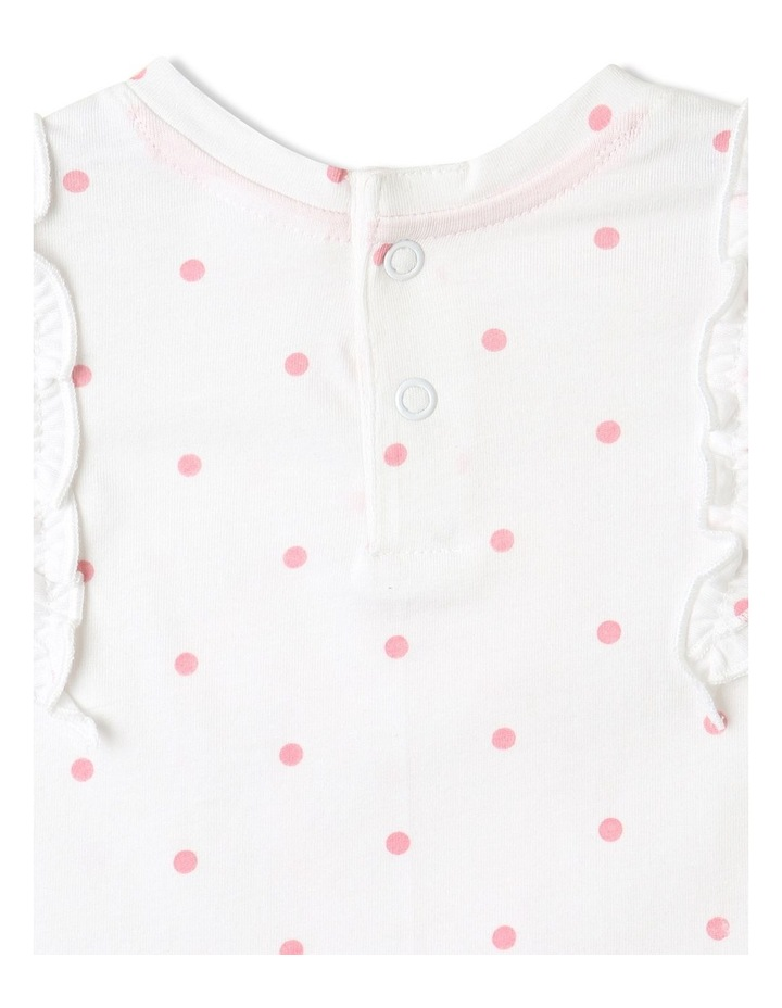 Bunny Frill Top White image 7