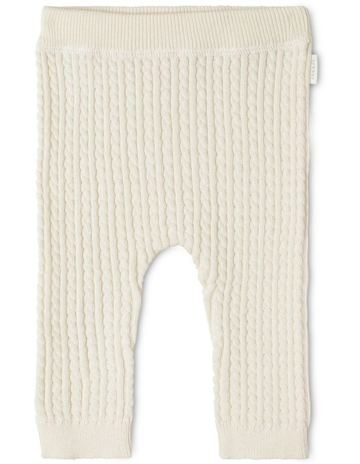 Organic Cable Knit Legging image 1