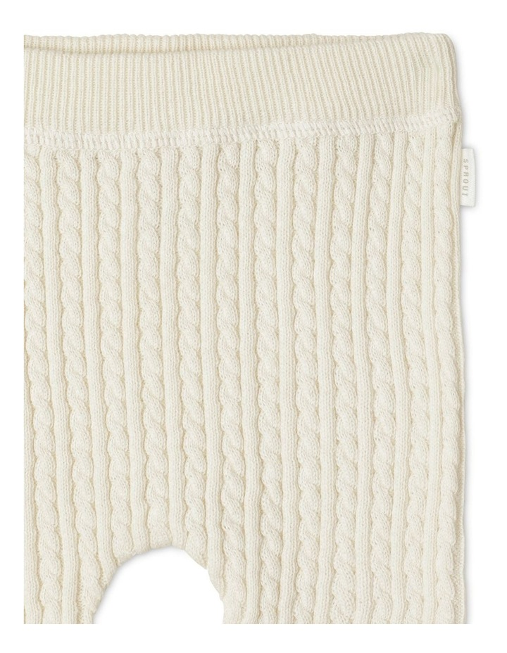 Organic Cable Knit Legging image 2