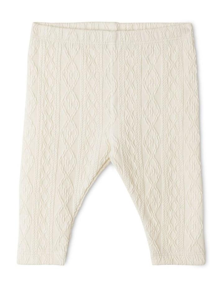 Katie Jacquard Knit Legging image 1