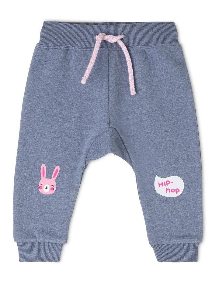 Essential Bunny Print Track-Pant image 1